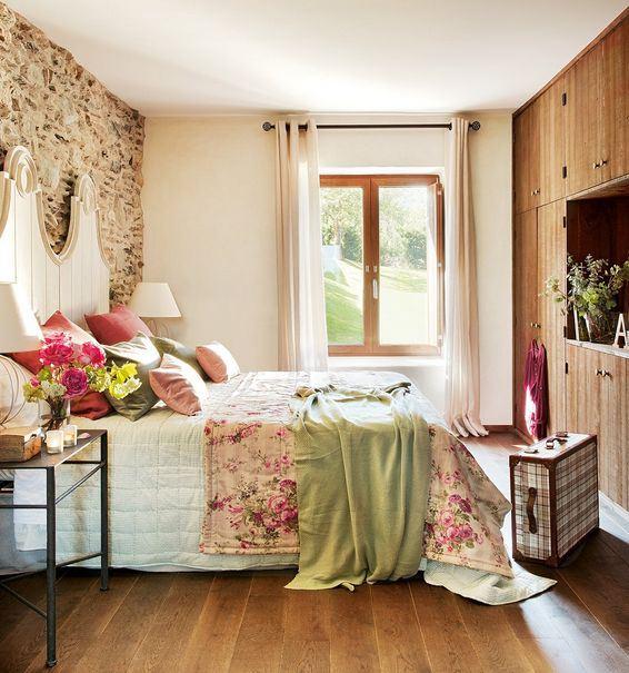 12 dormitoare de vis fabrika de case - Decorar habitacion rustica ...