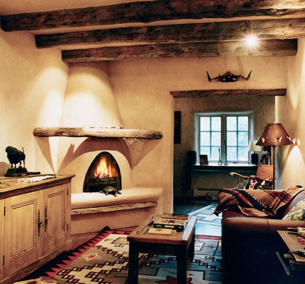 Fabrika de Case - Interior traditional in New Mexico