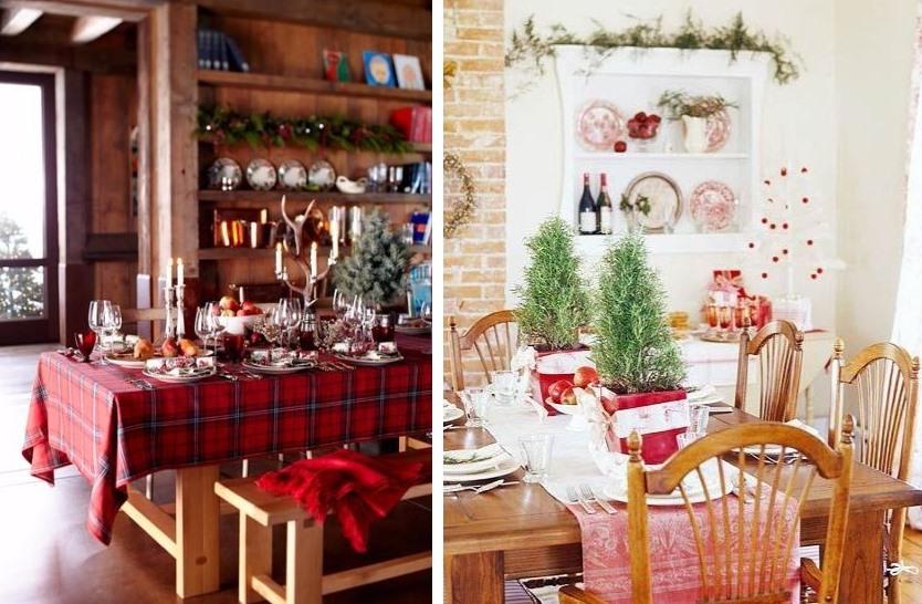 Fabrika de case- Christmas dining area