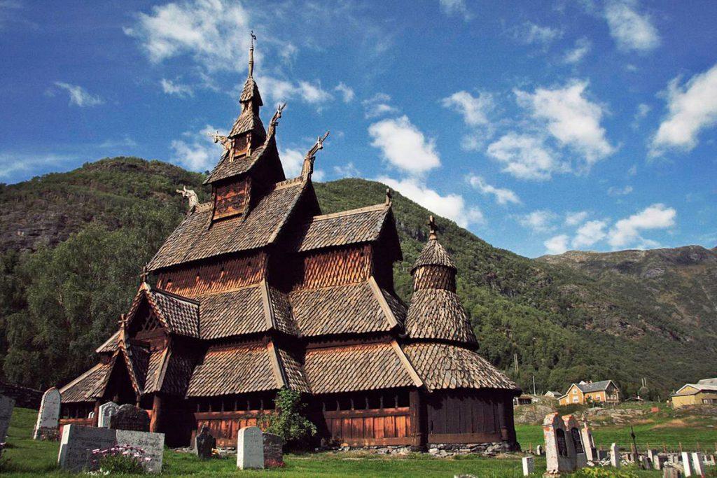 Fabrika de Case - Biserica Borgund Stave, Norvegia
