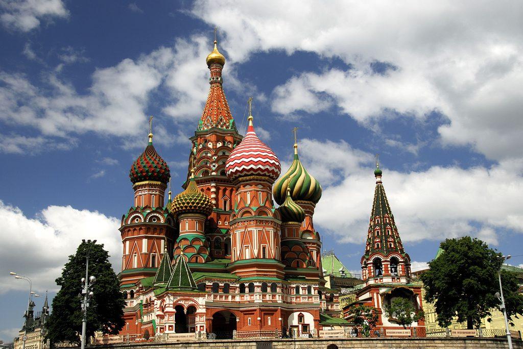 Fabrika de Case - Biserica Sfantul Vasile, Moscova