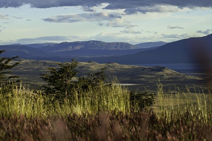 Fabrika de Case - Clientii hotelului pot admira peisajul salbatic al Patagoniei