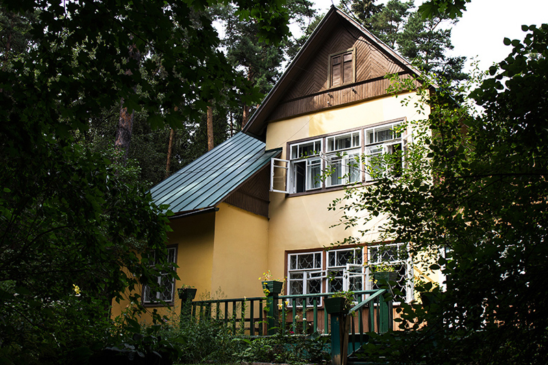 Fabrika de Case - Muzeul Korney Chukovsky, Peredelkino