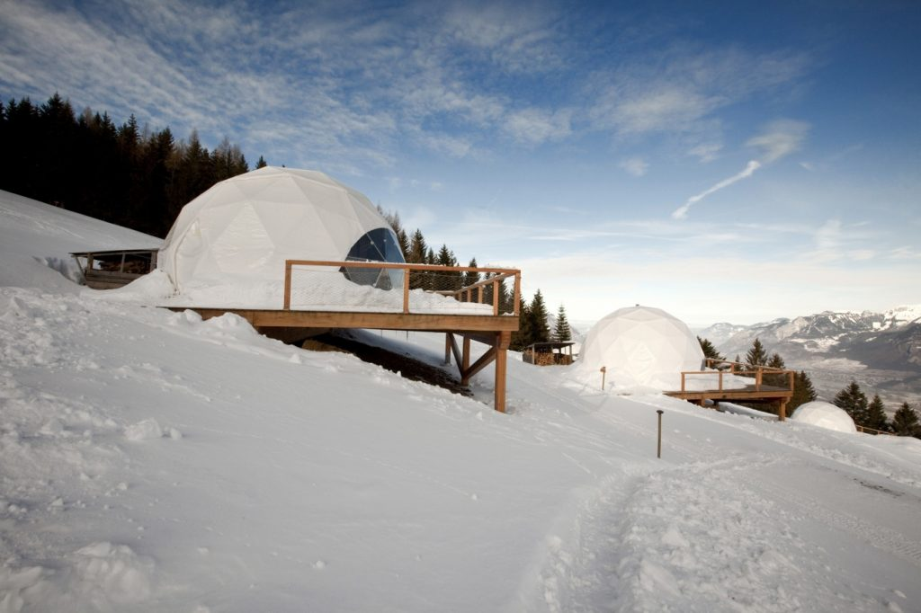 Fabrika de Case - Whitepod Resort, Elvetia