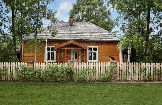 Fabrika de Case - Casa din lemn langa Varsovia