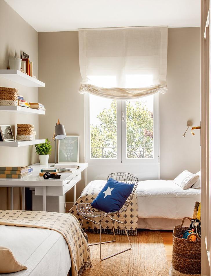 Fabrika de Case - Dormitor cu paturi gemene