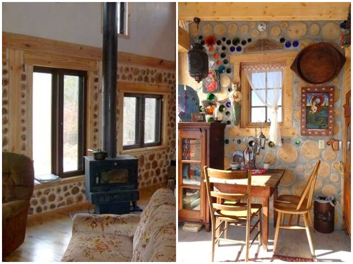 Fabrika de Case - Interior cordwood