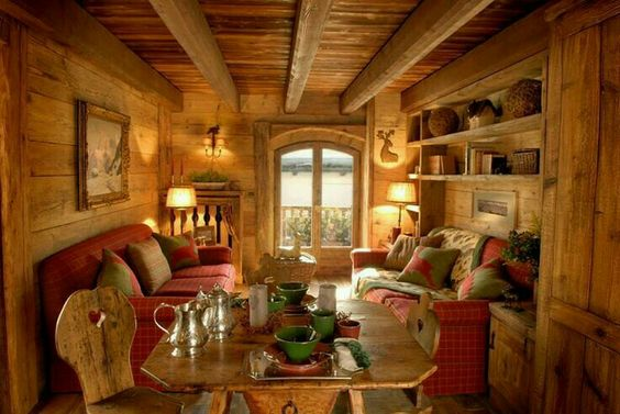 Fabrika de Case - Living in stil rustic