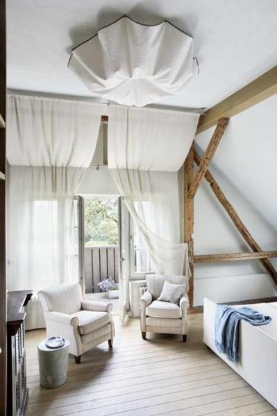 Fabrika de Case - Vila in Polonia, dormitor cu terasa
