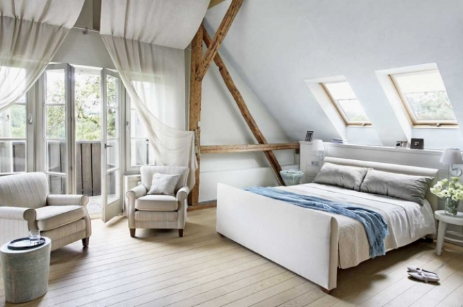 Fabrika de Case - Vila in Polonia, dormitor