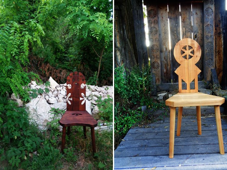 Fabrika de Case - Sezi, scaune din lemn masiv de cires