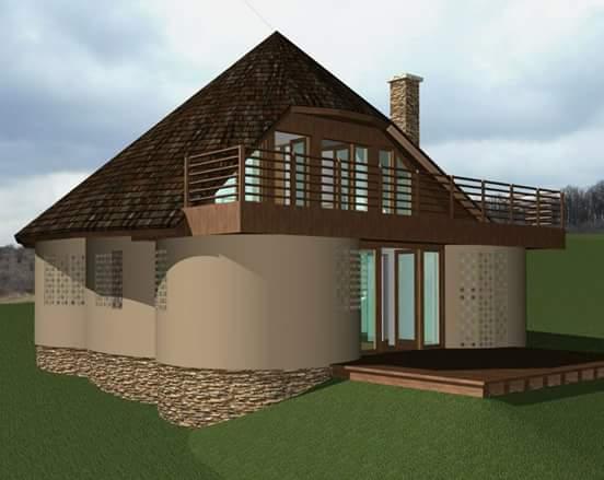 Fabrika de Case - Proiectul casei din cob
