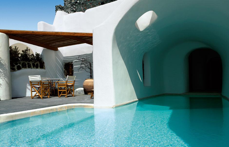 Fabrika de Case - Perivola Hotel, Santorini