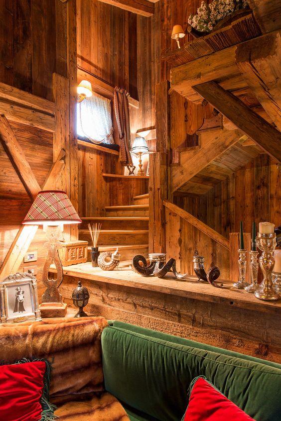 Fabrika de Case - Cabana traditionala in Dolomitii italieni