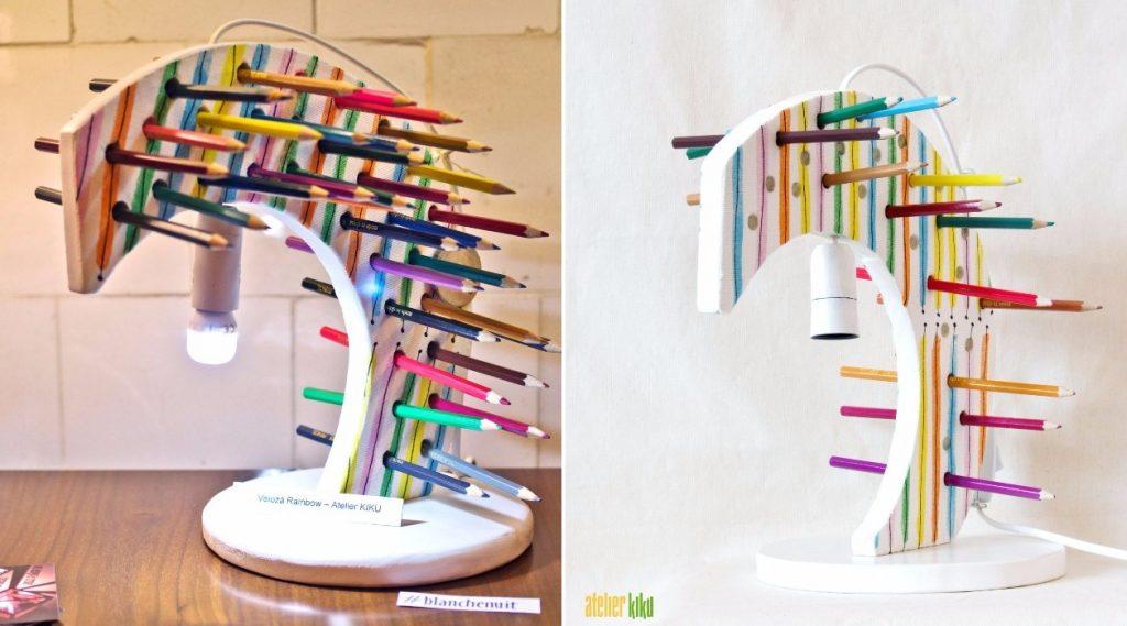 Fabrika de Case - Atelier Kiku, veioza Rainbow