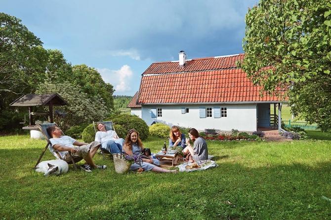 Fabrika de Case - Casuta cu influente scandinave in regiunea Lacurilor Mazuriene