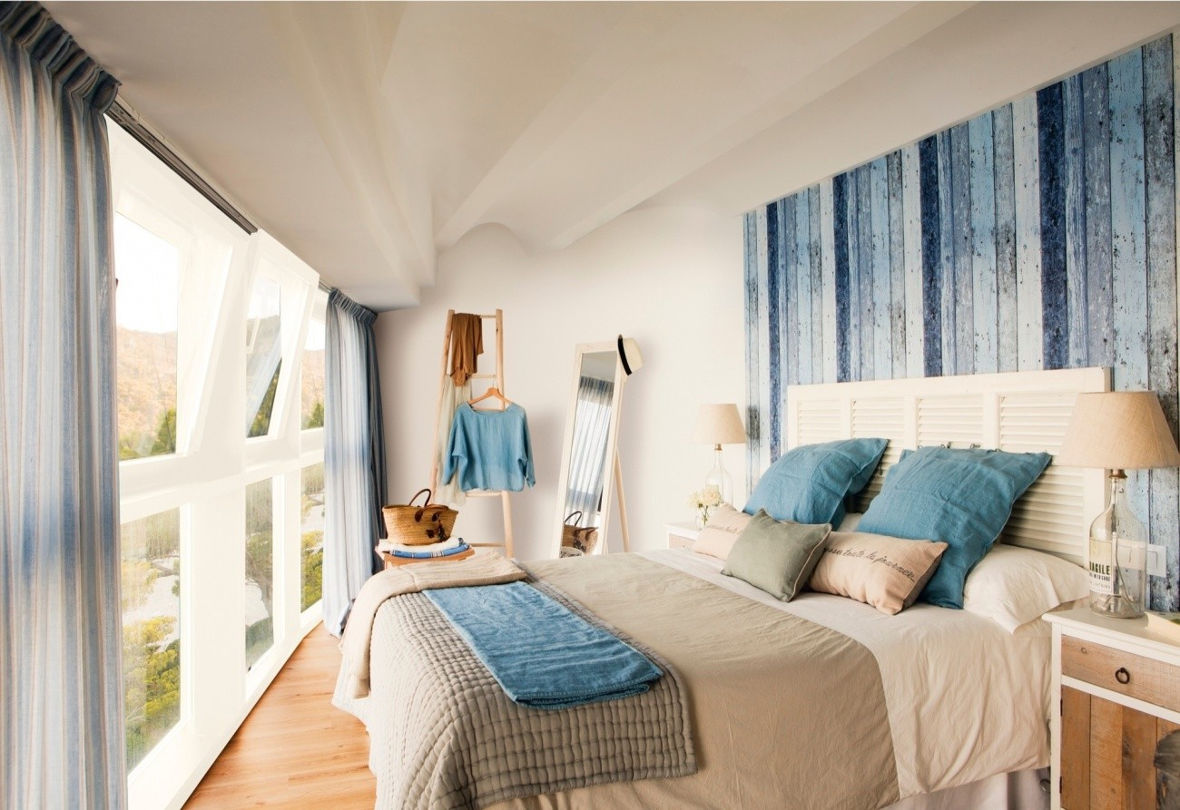 dormitor stil coastal