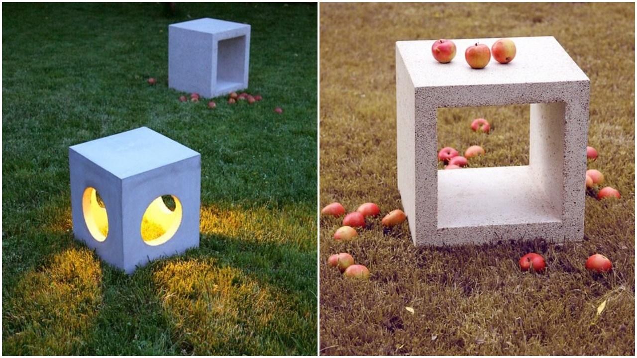 mobilier din ciment