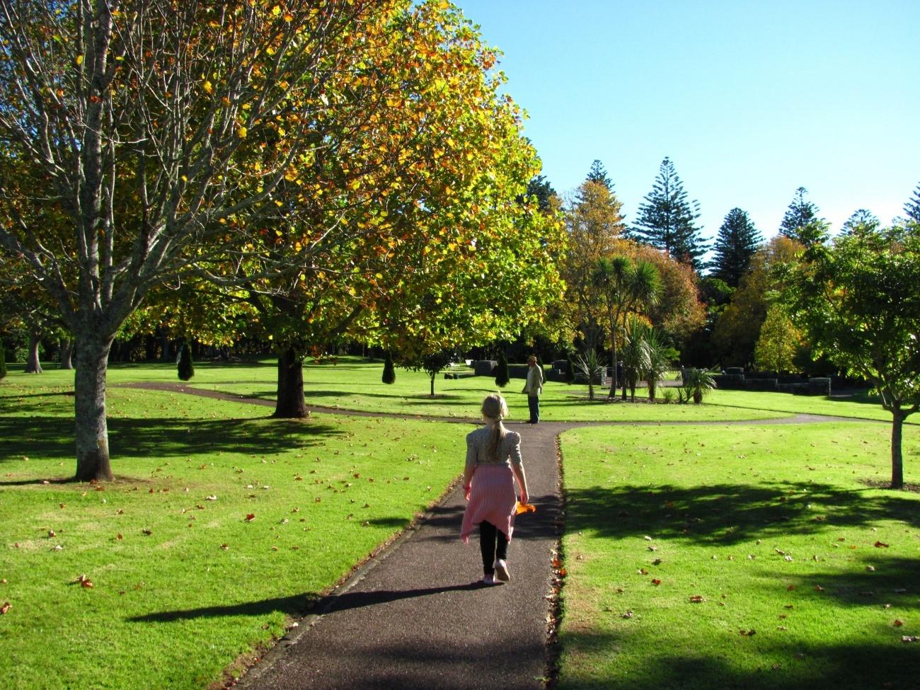 plimbare in parc