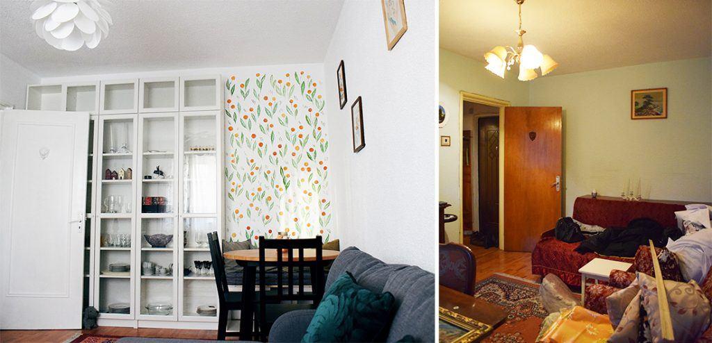sufragerie apartament mic