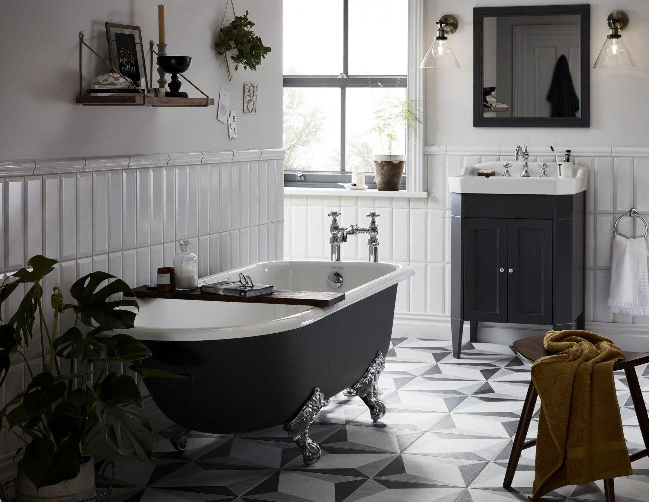 baie în stil retro