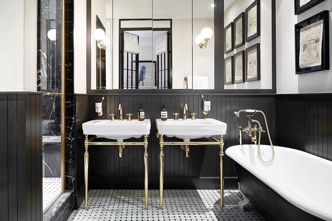 chiuvetă baie în stil retro