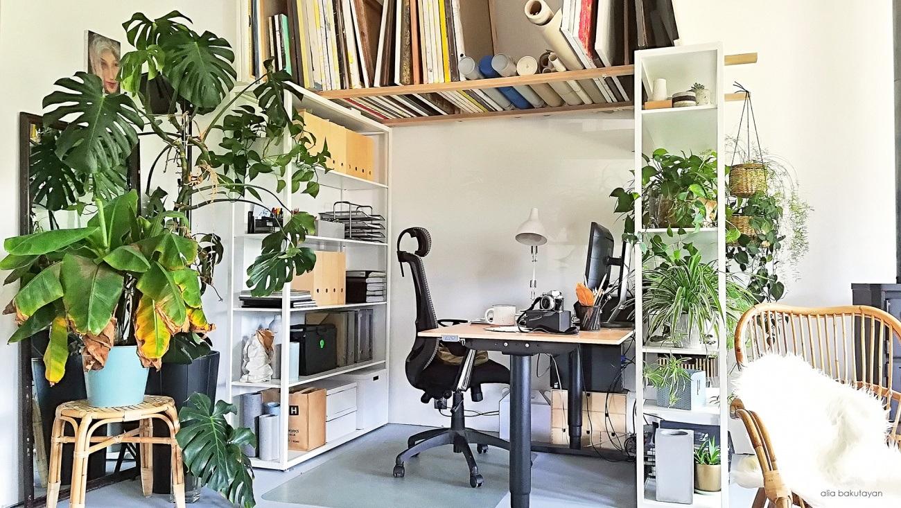 atelier de creatie casa pe parter