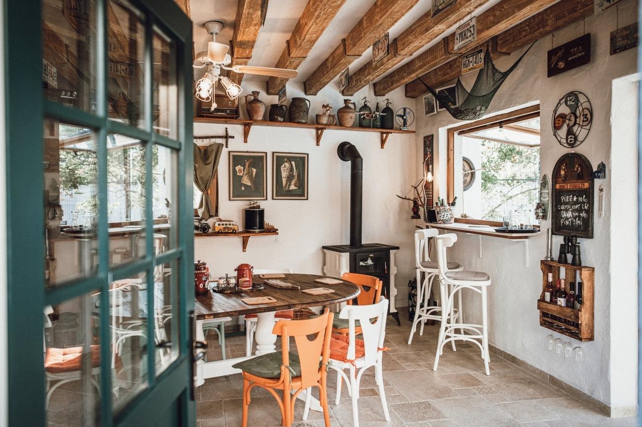 bucătărie de vară, interior