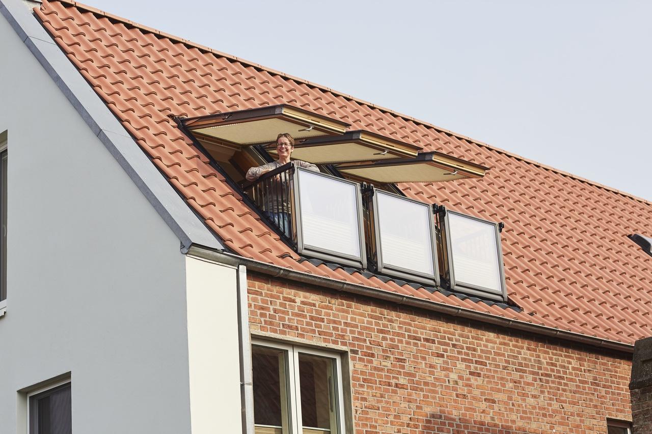 balcon mansarda