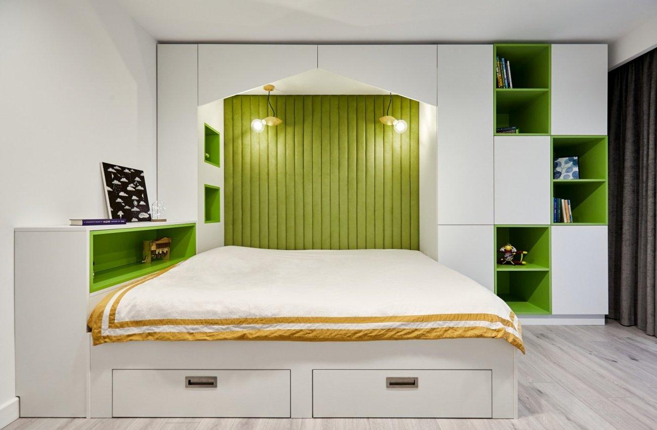 cameră copii culori vii, Acrea Design